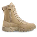 1152TAN Classic 9″ Side Zip Tan Original SWAT Combat Boots