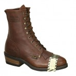 1774A Men's Brown Steel Toe Packer Boots