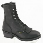 1175A Men's Black Packer Boots