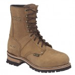 1427A Men's Brown Logger Boots