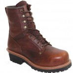 9489A Men's Broad Steel Toe Logger Boots