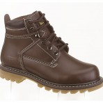 6258A Childrens Brown Work Boots